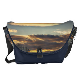 Cloudy Mothership Courier Bag
