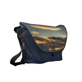 Cloudy Mothership Messenger Bag