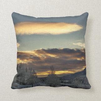 Cloudy Mothership Pillow