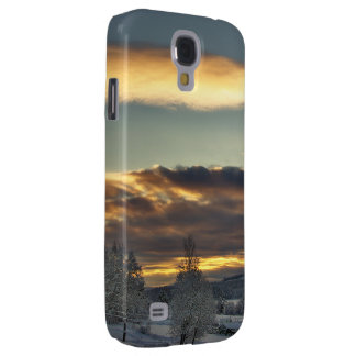 Cloudy Mothership Samsung Galaxy S4 Cover