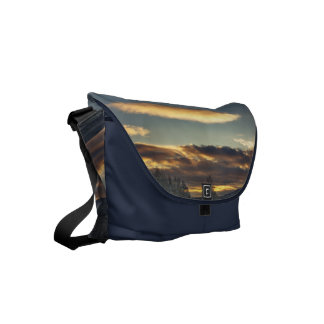 Cloudy Mothership Small Messenger Bag