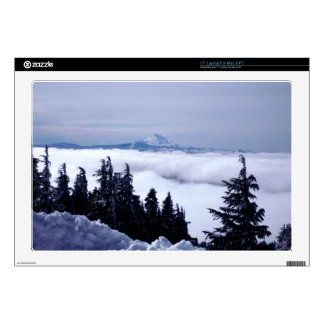 """Cloudy Mountain Skin For 17"""" Laptop"""