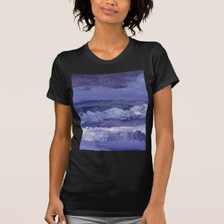 Cloudy Night Sea - CricketDiane Ocean Art T-Shirt