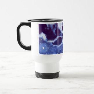 Cloudy Night Sky Travel Mug Mug