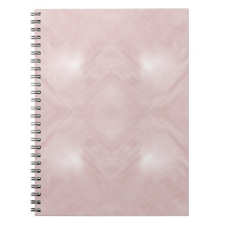 Cloudy Pink Abstract Notebook