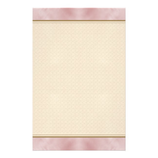 Cloudy Pink Abstract Stationery