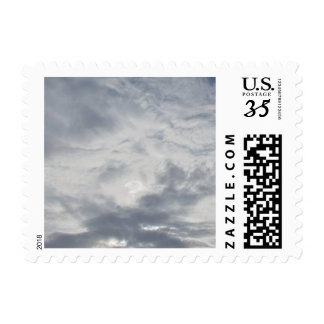 Cloudy Postage Stamp