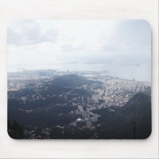 Cloudy Rio de Janeiro Mouse Pad
