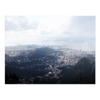 Cloudy Rio de Janeiro Postcard