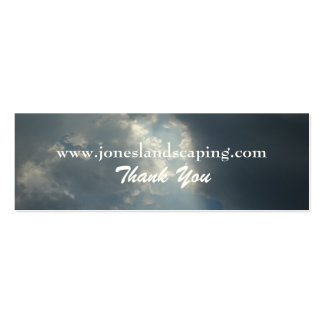 Cloudy Skies Business Cards