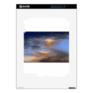 Cloudy Skies Decal For iPad 2