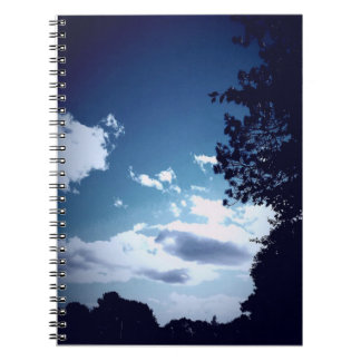 Cloudy Skies in Boothbay Notebook (80 Pages B&W)