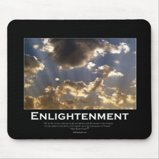 Cloudy Skies Inspirational Gifts Mouse Pad