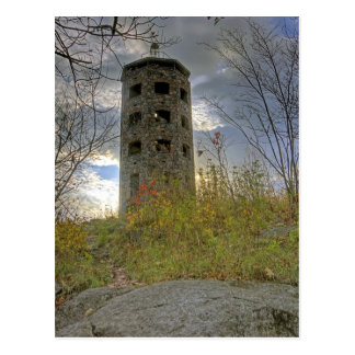 Cloudy Skies over Enger Tower Postcard