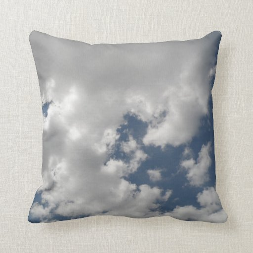 Cloudy Skies Pillow