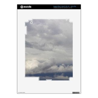 Cloudy Skies iPad 3 Decals
