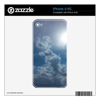 Cloudy Sky 1.0 Skin For The iPhone 4S