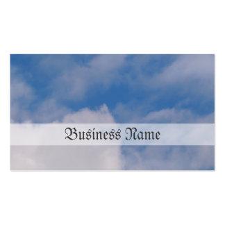 Cloudy Sky Business Card