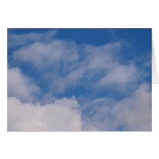Cloudy Sky Card