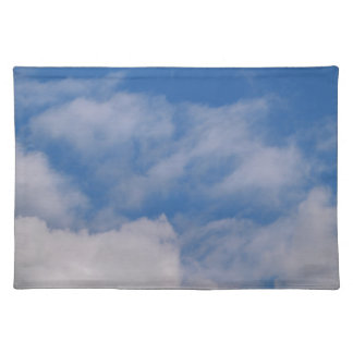 Cloudy Sky Cloth Placemat