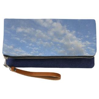 Cloudy sky clutch
