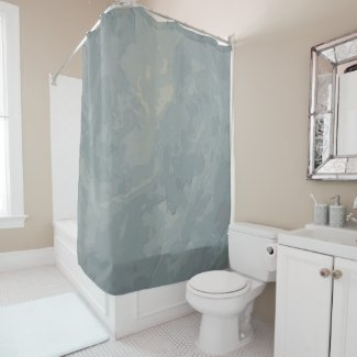 Cloudy Sky in DullPastel... Shower Curtain