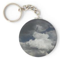 Cloudy Sky Key Chain