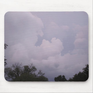 Cloudy Sky Mouse Pads