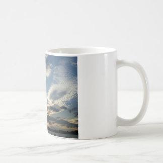 Cloudy Sky over the Detroit River, Windsor Coffee Mug