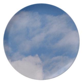 Cloudy Sky Plate