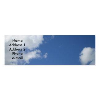 Cloudy Sky Profile Card