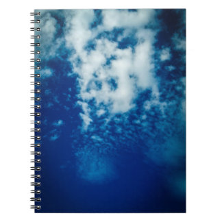 Cloudy Sky Spiral Notebook