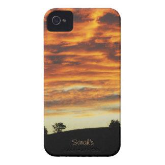 Cloudy Sky Sunset Blackberry Case-Mate Case