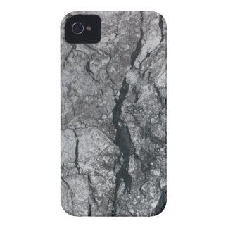 Cloudy Slate Black Streaked marble stone finish Case-Mate iPhone 4 Case