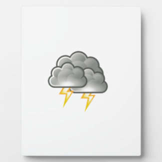 cloudy storm plaque