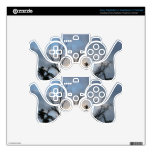 Cloudy Sun Set Tree Skins For PS3 Controllers