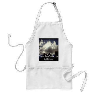 Cloudy Sunny Day Aprons