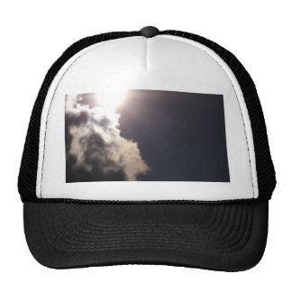 Cloudy Sunny Day Trucker Hat