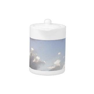 Cloudy Sunset Teapot