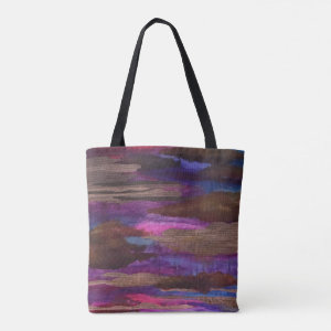 Cloudy Text Tote Bag