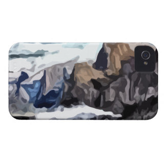 Cloudy Valley painting iPhone 4 Cover