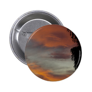 Cloudy waves 2 inch round button