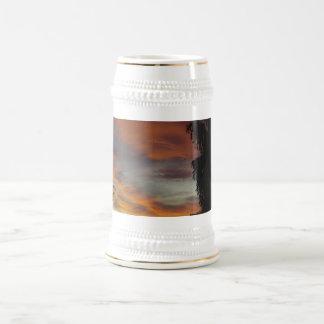 Cloudy waves coffee mug