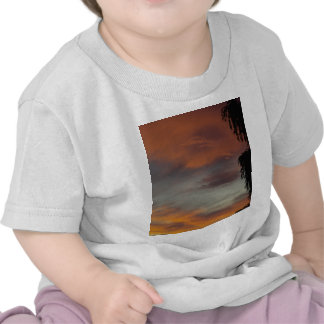 Cloudy waves shirts