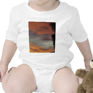 Cloudy waves t shirts