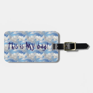 Cloudy Weather - Luggage Tag