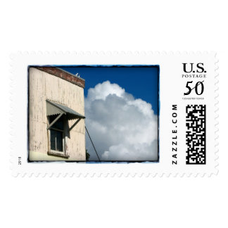 Cloudy with Seagulls Postage