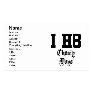 cloudydays business cards