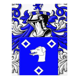 Clougherty Coat of Arms Customized Letterhead