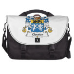Cloutier Family Crest Computer Bag